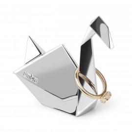 Porta-Anel Zoola Origami Cisne