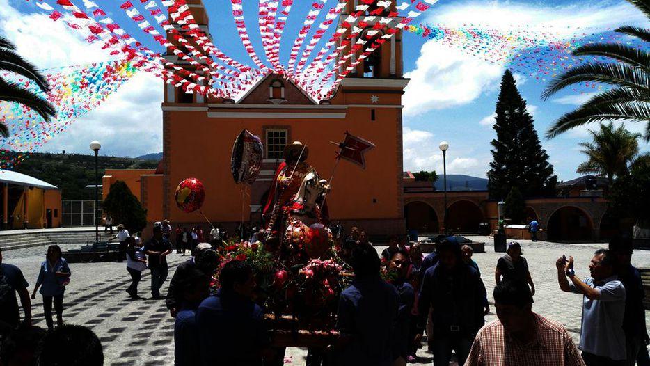 Fiesta patronal de Santiago Apóstol en Santiago Miahuatlán