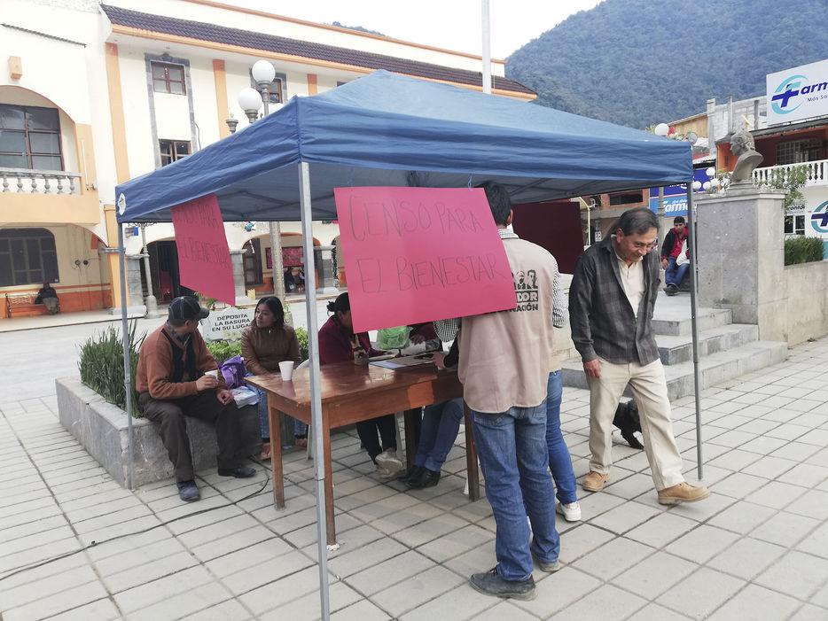 Instalan Módulo Del Censo De Bienestar Diario El Mundo