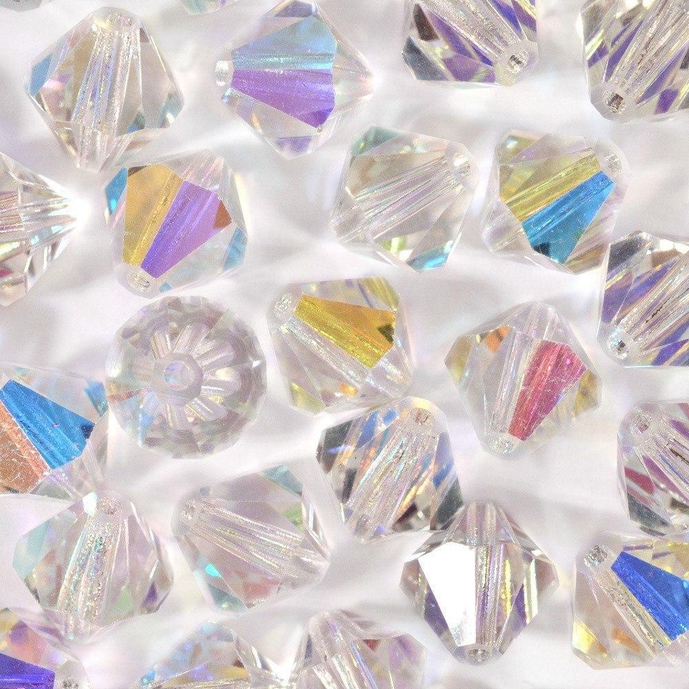 Balão de Cristal Preciosa Cristal AB 6mm 288pcs