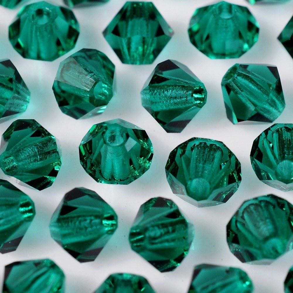 Balão de Cristal Preciosa Emerald 4mm 720pcs