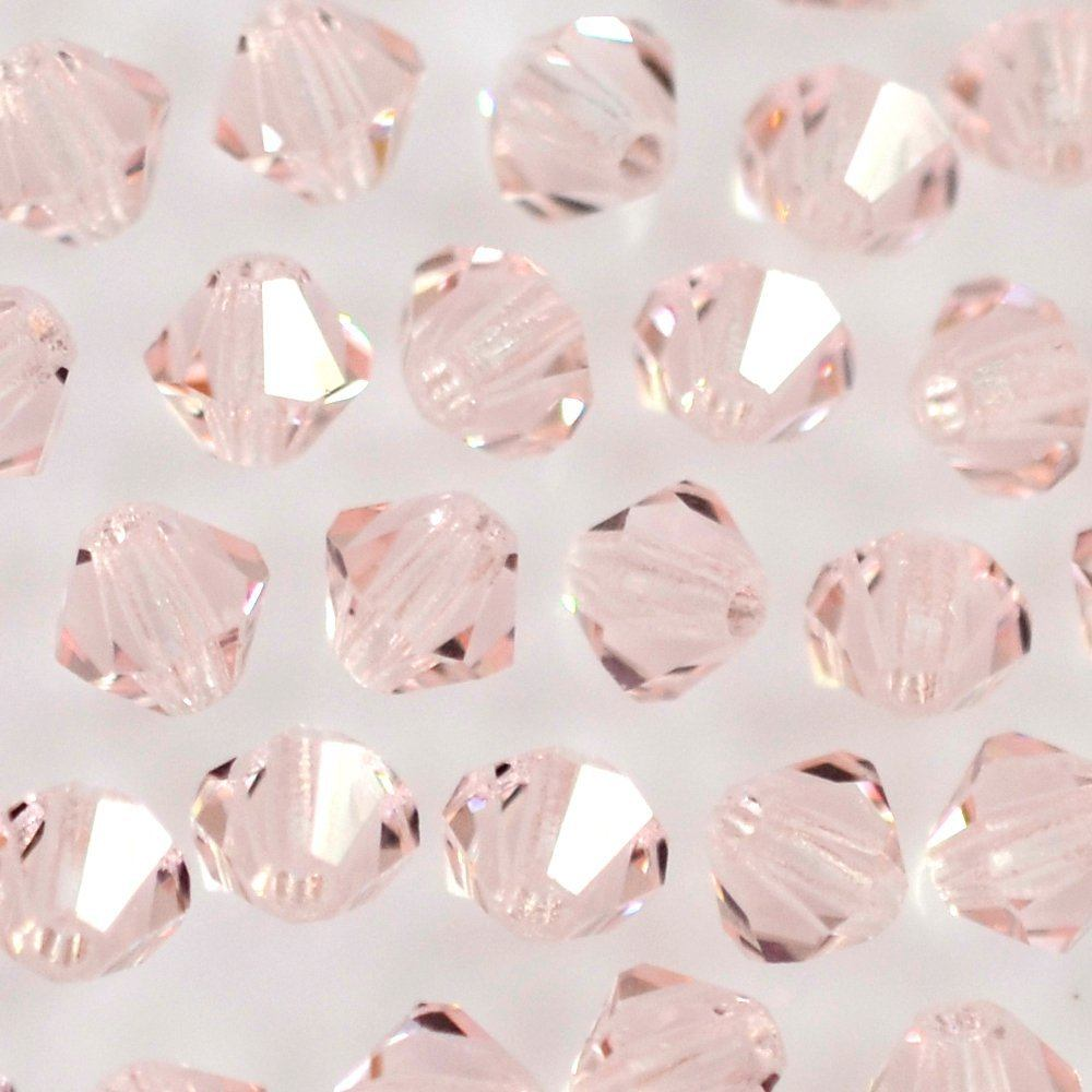 Balão de Cristal Preciosa Light Rose 4mm 720pcs