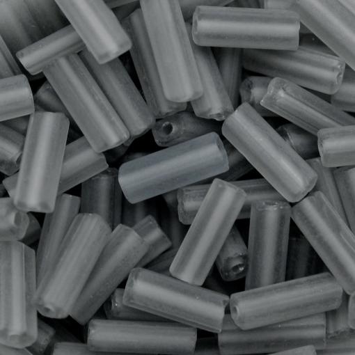 Canutilho Chiclete Preciosa® Ornela Cinza Mate (40010) 10x3,5mm
