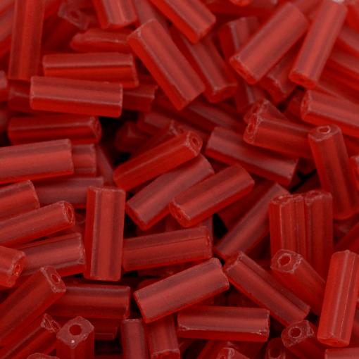 Canutilho Chiclete Preciosa® Ornela Vermelho Mate (90070) 10x3,5mm