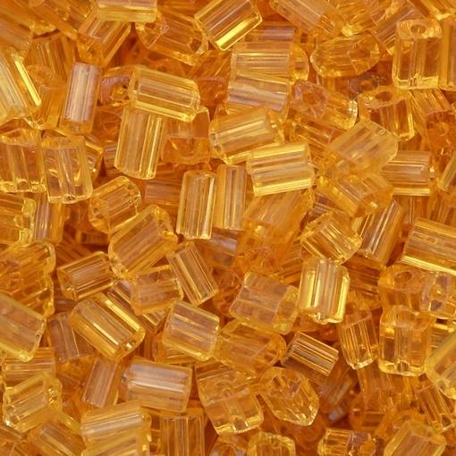 Canutilho Chiclete Preciosa® Ornela Topaz Transparente T (10050) 5x3mm