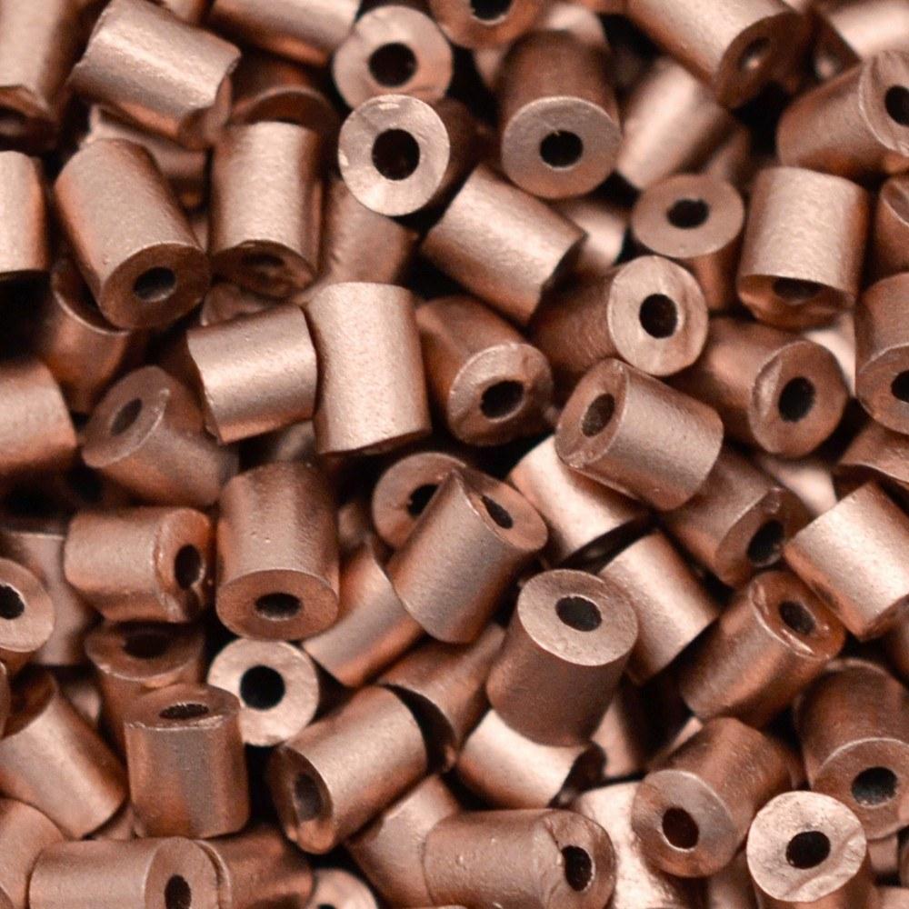 Canutilho Segui Color by LDI Cristais® Bronze Fosco Perolado (01780L) 2,5x2,5mm 100 gr