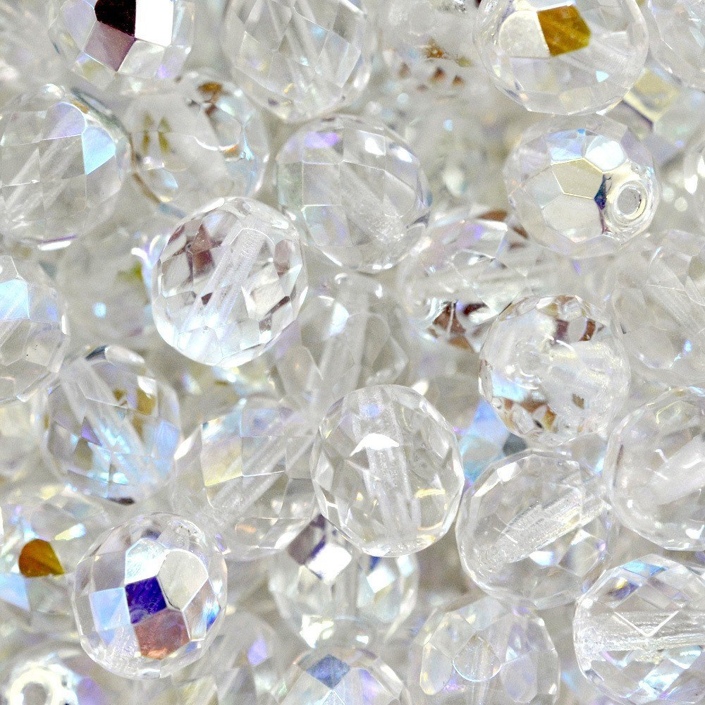Cristal Transparente Preciosa Cristal AB 4mm 1200pcs