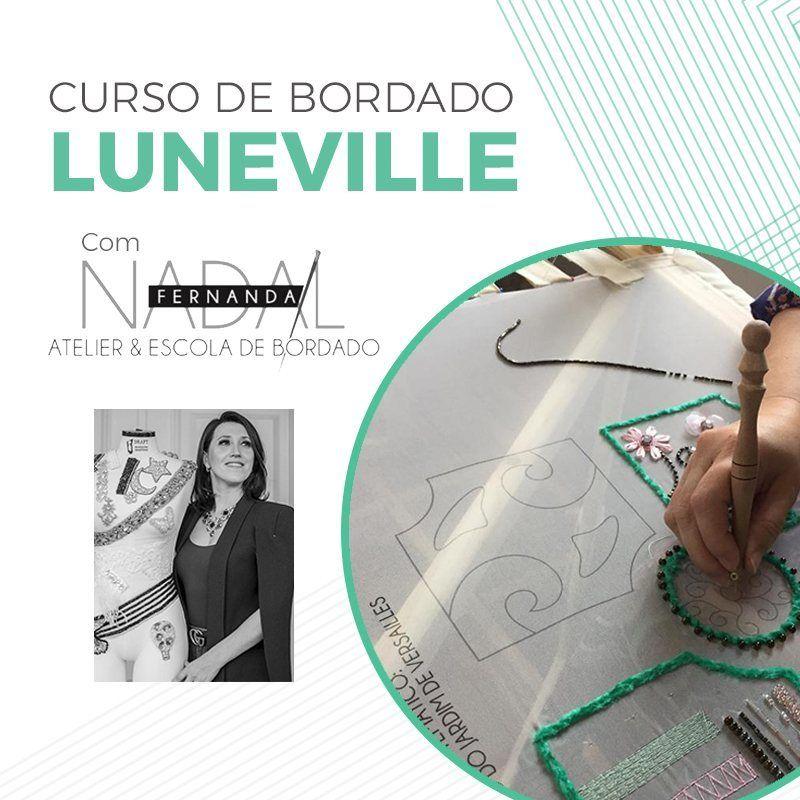 Curso de bordado LUNEVILLE | Com Material