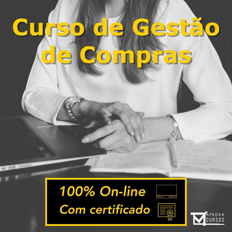 Curso online em videoaula de Gestão de Compras com Certificado
