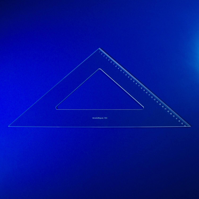 Esquadro 45º 50 cm com escala