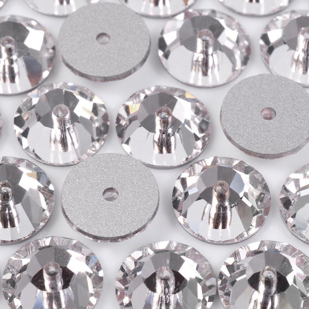 Lantejoula Preciosa Cristal 6mm 288pcs