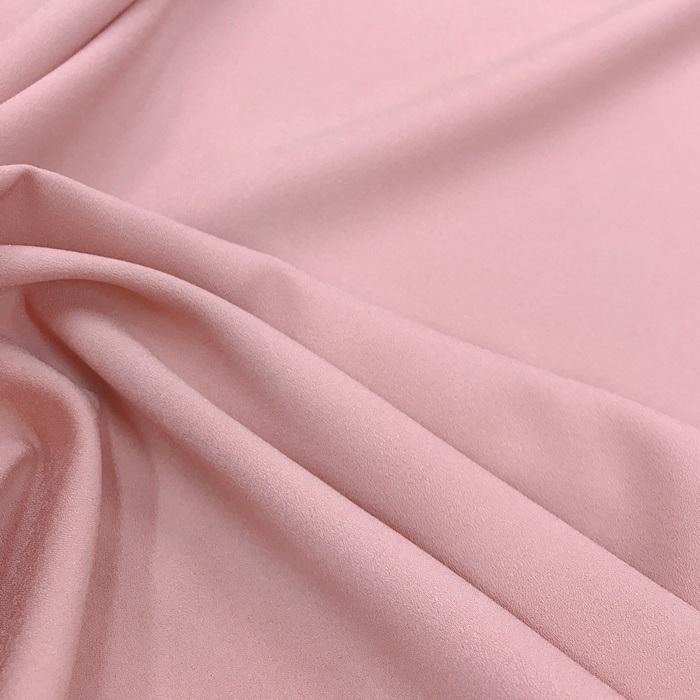 Tecido Crepe Aya Rosa Antigo - Pantone 487 C
