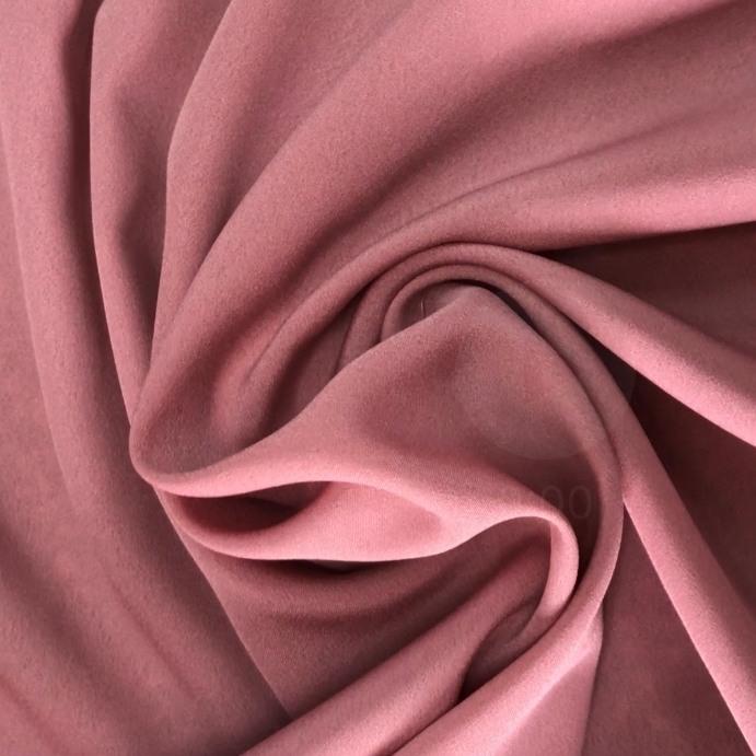 Tecido Crepe Aya Rosé - Pantone 2445 C