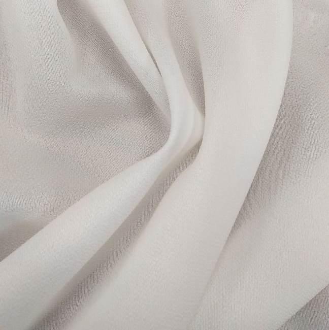 Tecido Crepe Georgette Branco
