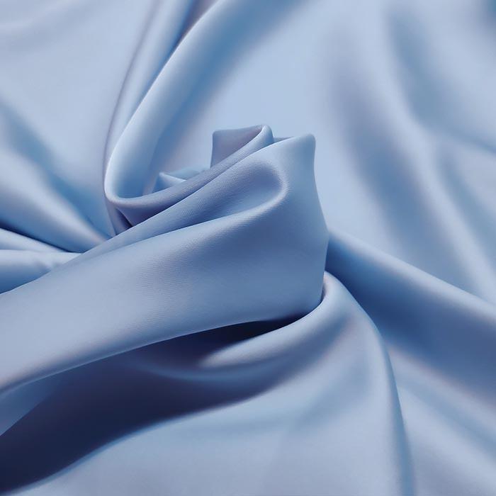 Tecido Crepe Peach Vision Azul Serenity