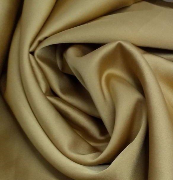 Tecido Crepe Provence Dourado