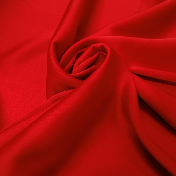 Tecido Crepe Provence Vermelho