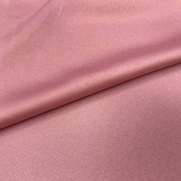 Tecido Crepe Valentino Rosé - Pantone 2444 C
