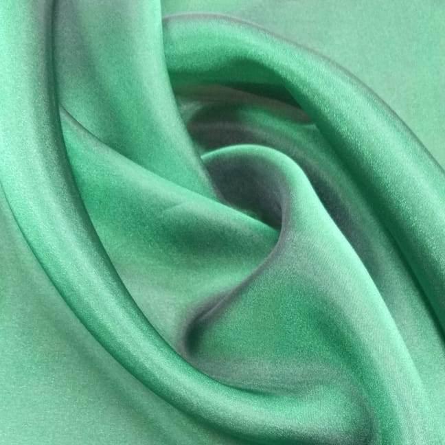 Tecido Gazar Verde com Preto
