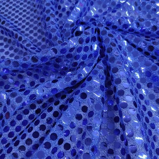 Tecido Lantejoula Azul