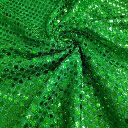 Tecido Lantejoula Verde