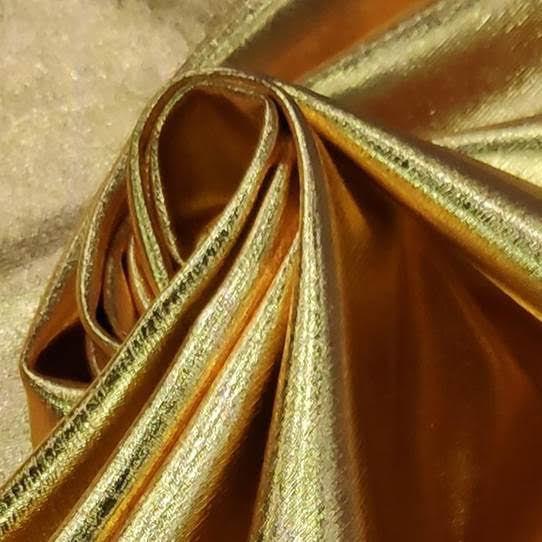 Tecido Lurex Especial Dourado