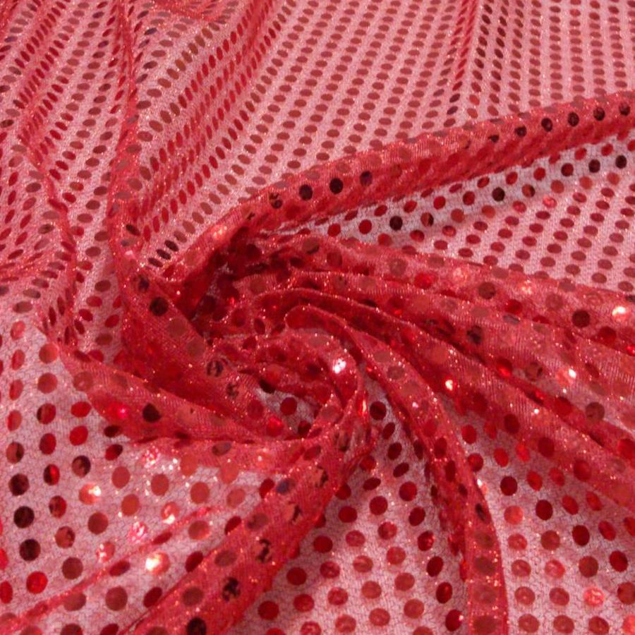 Tecido Paetê Lantejoula Vermelho