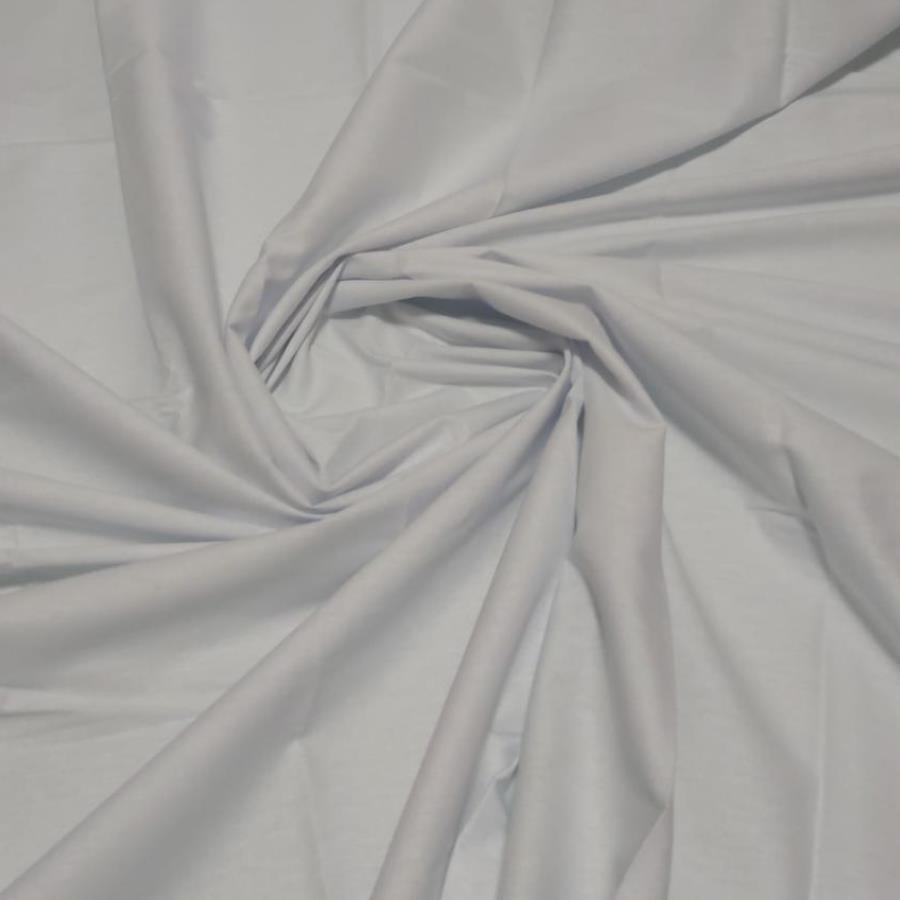 Tecido Tricoline 100% algodão Branco