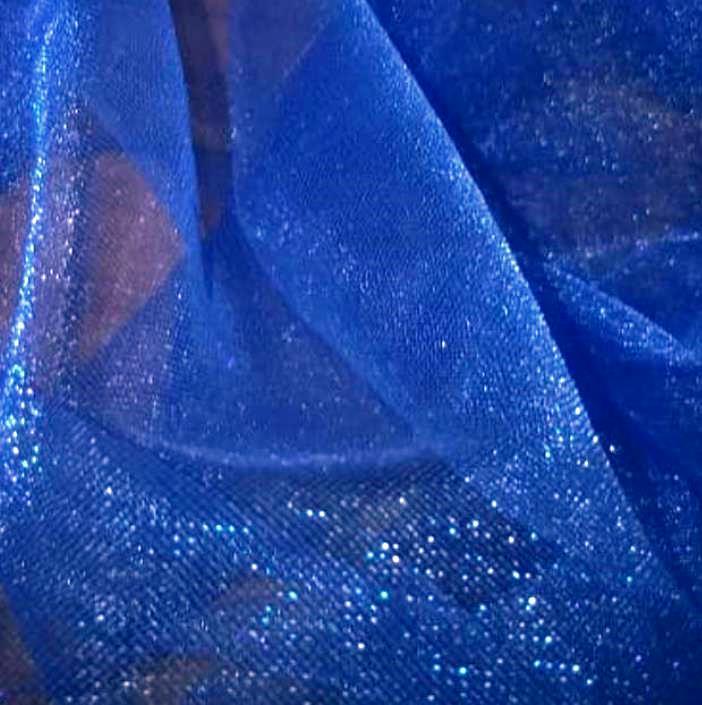 Tecido Tule Cristal Azul