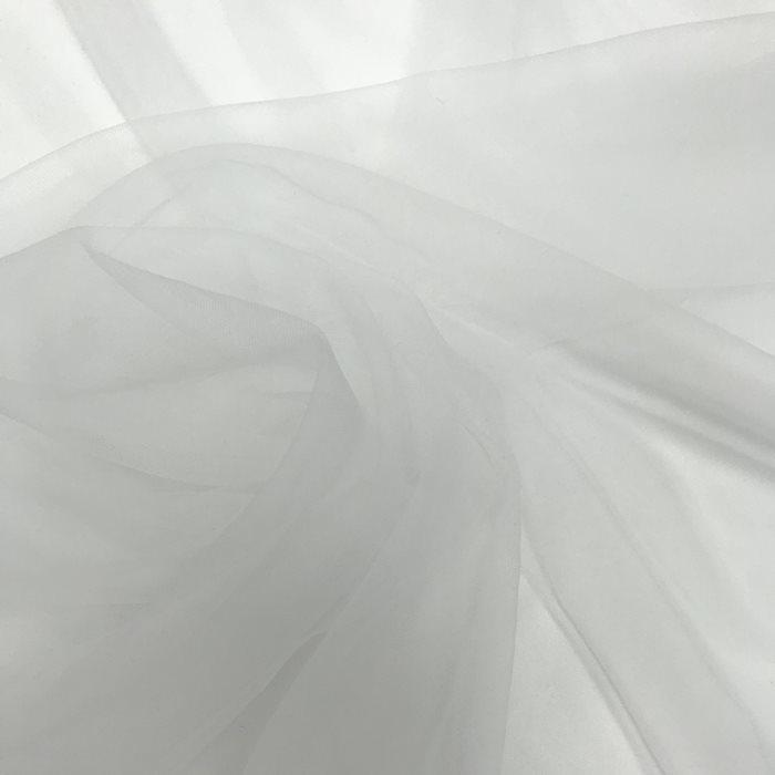 Tecido tipo Tule Ilusion Branco