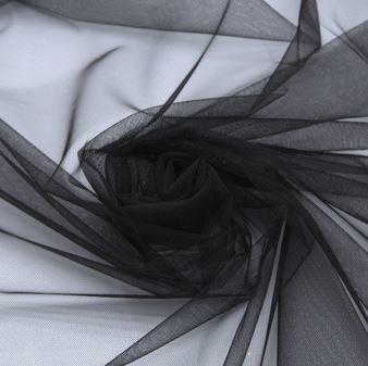 Tecido Tule Ilusion Preto