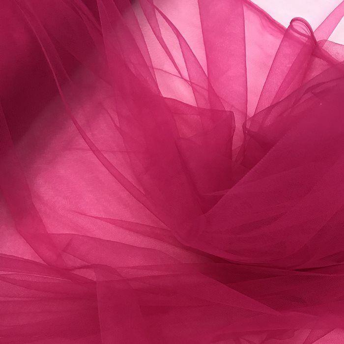 Tecido Tule Invisível Pink