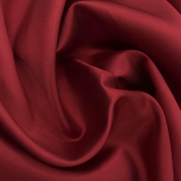 Tecido Zibeline de Poliéster Vermelho Cereja - Pantone 187 C