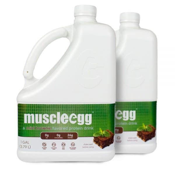 2 Gallons Mint Brownie MuscleEgg