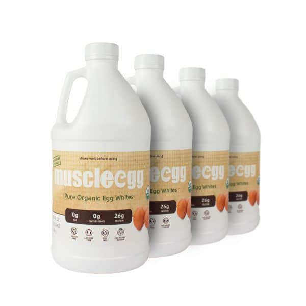 4 Half Gallons Organic MuscleEgg