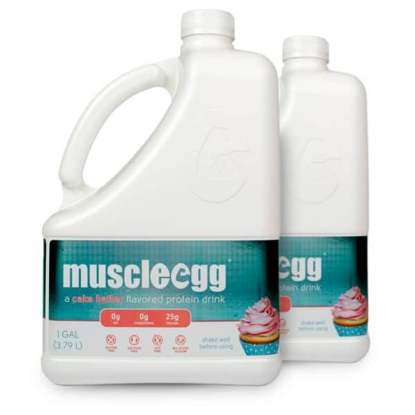 2 Gallons Cake Batter MuscleEgg