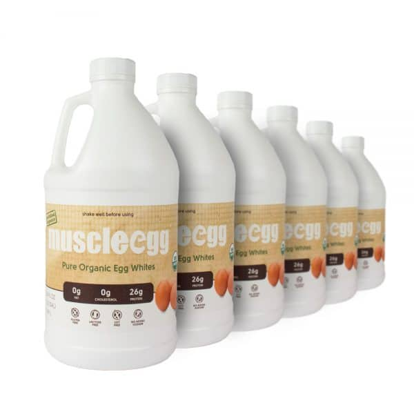 6 Half Gallon Organic MuscleEgg