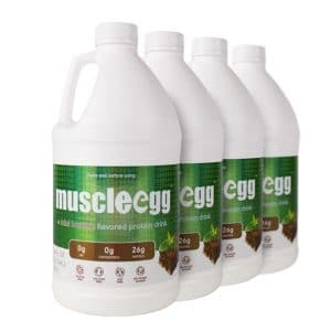 4 Haklf Gallons Mint Brownie MuscleEgg