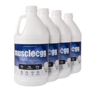 4 Half Gallons Original MuscleEgg