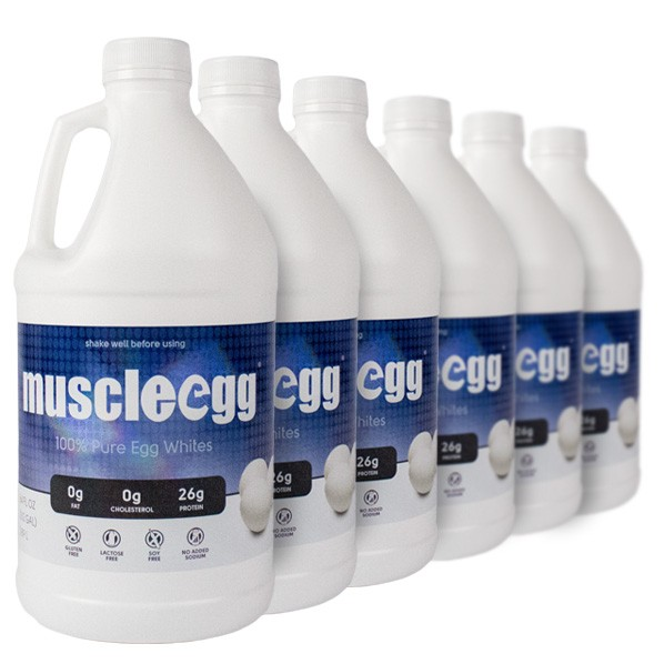 6 Half Gallons Original MuscleEgg