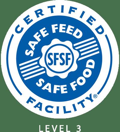 Safe Feed safe Feed level 3