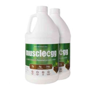 2 Half Gallons Mint Brownie MuscleEgg