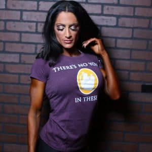 """Women's """"There's No Yolk In These Jugs"""" T-Shirt"""