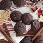 Gingerbread Pumpkin Chocolate Cookies