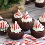 Mocha Peppermint Brownies