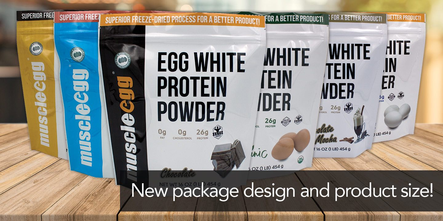 MuscleEgg Liquid Egg Whites | Powder Egg Whites | Flavored