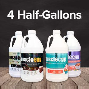 Mix and Match 4 Half Gallons