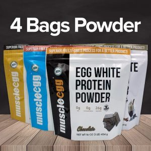 Autoship MuscleEgg Powder 4 Bags
