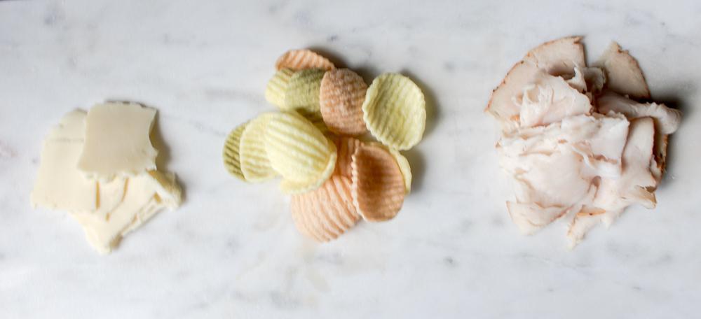 Cheese Veggie Chips Turkey