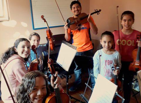 Clases de Violin - OIVENE
